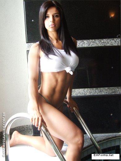 【三次】程よく筋肉質な女の子のセクシー画像part2・2枚目