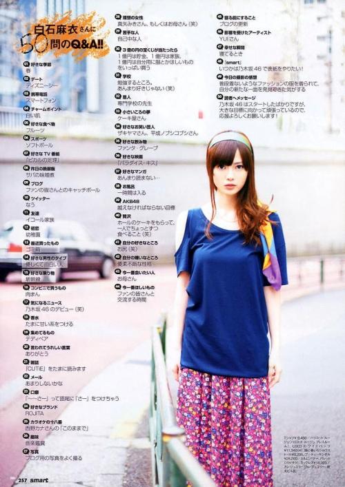 【三次】アイドル界でも最高峰の美少女!乃木坂46の白石麻衣ちゃんのセクシー画像・20枚目