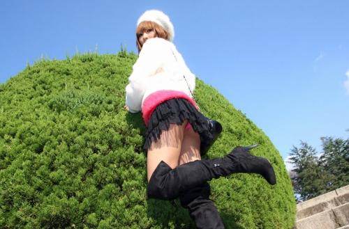【三次】お尻で誘っている女の子のエロ画像part3・9枚目
