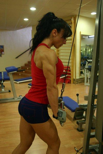 【三次】程よく筋肉質な女の子のセクシー画像part2・16枚目