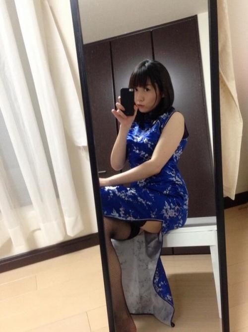 【三次】チャイナドレスを着た女の子のエロ画像・5枚目