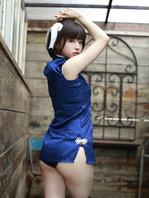 【三次】チャイナドレスを着た女の子のエロ画像・6枚目