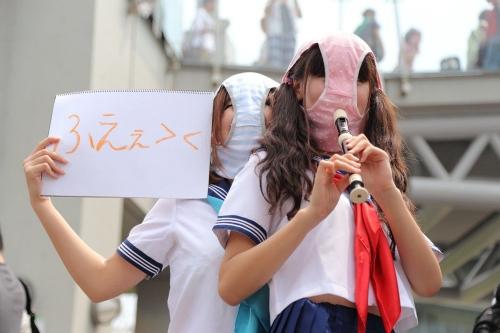 【三次】可愛い女の子コスプレイヤーの微エロ画像part2・3枚目