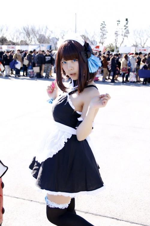 【三次】可愛い女の子コスプレイヤーの微エロ画像part9・5枚目