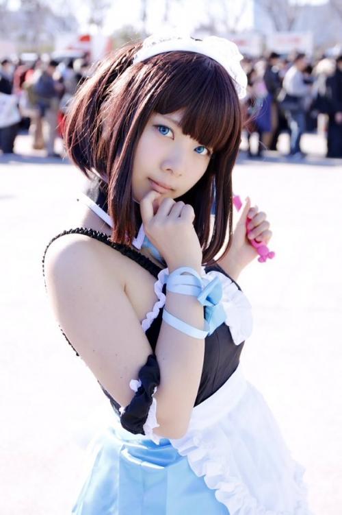 【三次】可愛い女の子コスプレイヤーの微エロ画像part9・6枚目