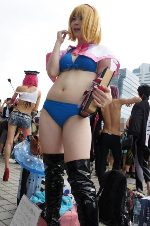 【三次】可愛い女の子コスプレイヤーの微エロ画像part9・10枚目