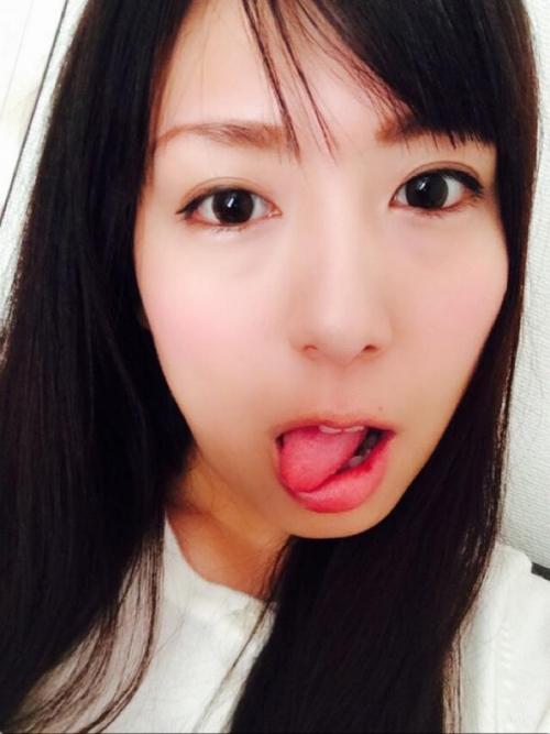 【三次】舌を出してる女の子のエロ画像part2・12枚目