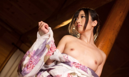 【三次】浴衣や着物姿の女性のエロ画像part2・8枚目