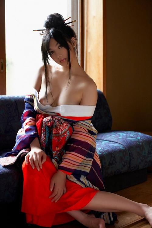 【三次】浴衣や着物姿の女性のエロ画像part2・10枚目