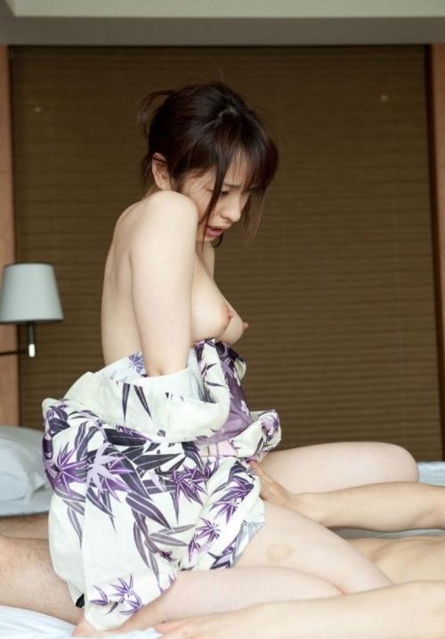 【三次】浴衣や着物姿の女性のエロ画像part2・17枚目