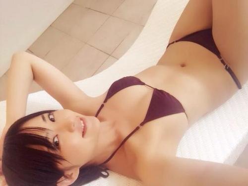 【三次】貧乳は正義!可愛くてAカップちっぱいな鈴木咲ちゃんの自画撮り画像(60枚)・18枚目