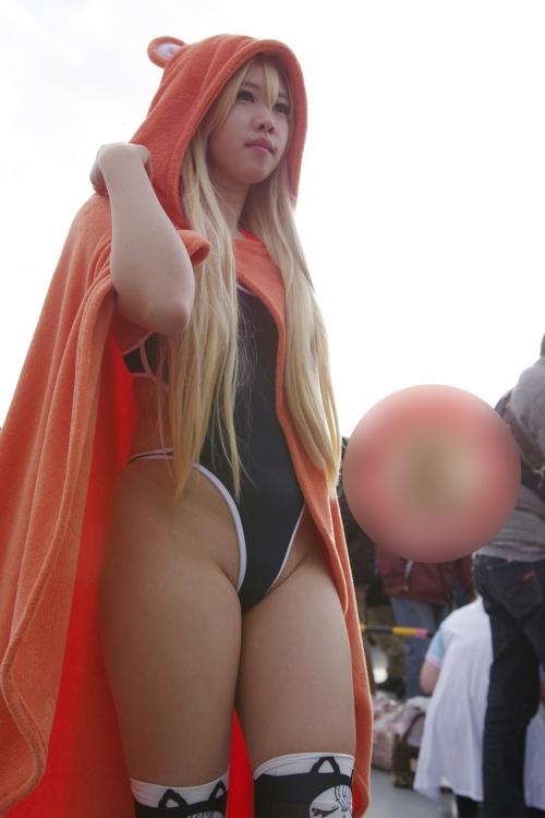 【三次】可愛い女の子コスプレイヤーの微エロ画像part9・19枚目