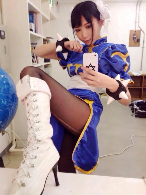 【三次】可愛い女の子コスプレイヤーの微エロ画像part9・20枚目
