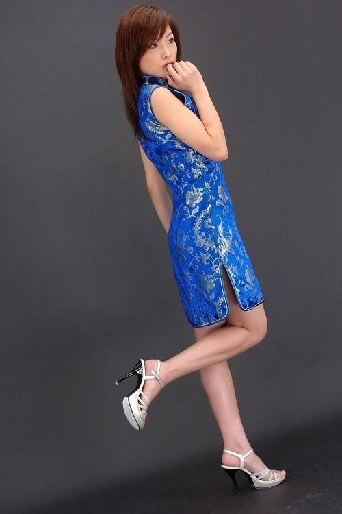 【三次】チャイナドレスを着た女の子のエロ画像・22枚目