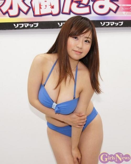 【三次】ぽっちゃりなだらしない身体に興奮してしまう水樹たまちゃんの巨乳セクシー画像・25枚目