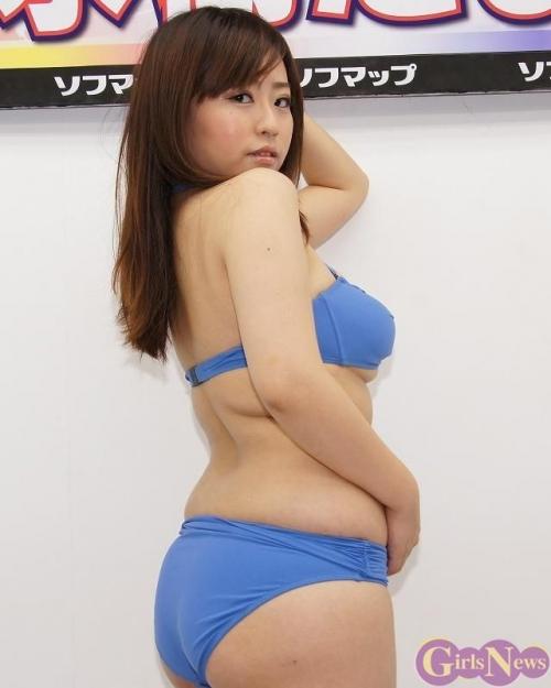 【三次】ぽっちゃりなだらしない身体に興奮してしまう水樹たまちゃんの巨乳セクシー画像・26枚目