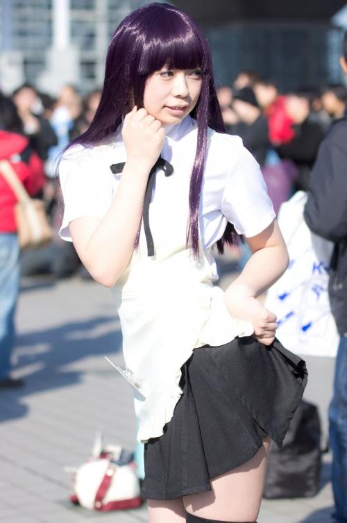 【三次】可愛い女の子コスプレイヤーの微エロ画像・26枚目