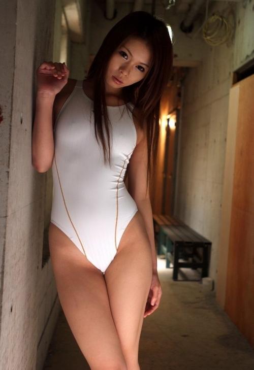 【三次】競泳水着姿のお姉さんのエロ画像part2・24枚目