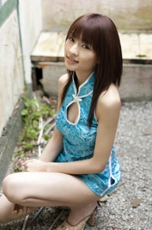 【三次】チャイナドレスを着た女の子のエロ画像・28枚目