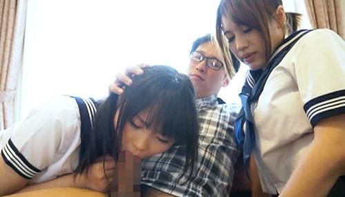 【三次】北海道ですくすく育った18歳の巨乳JK二人組をヤリまくる!押しに弱いJKは青姦、好奇心旺盛なJKは拘束目隠しセックス、そして3Pで中出しエロ画像・22枚目