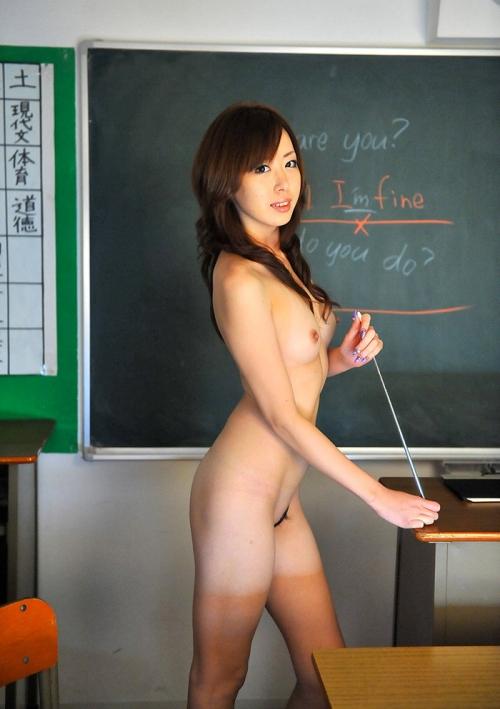 【三次】身体で教えてくれそうな女教師のエロ画像・23枚目