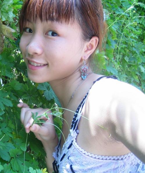 【脇フェチ】腋が見えてる若い女の子の画像【わき・ワキ】part1・2枚目
