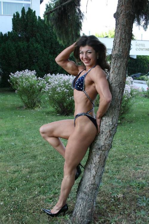 【三次】程よく筋肉質な女の子のセクシー画像part4・18枚目