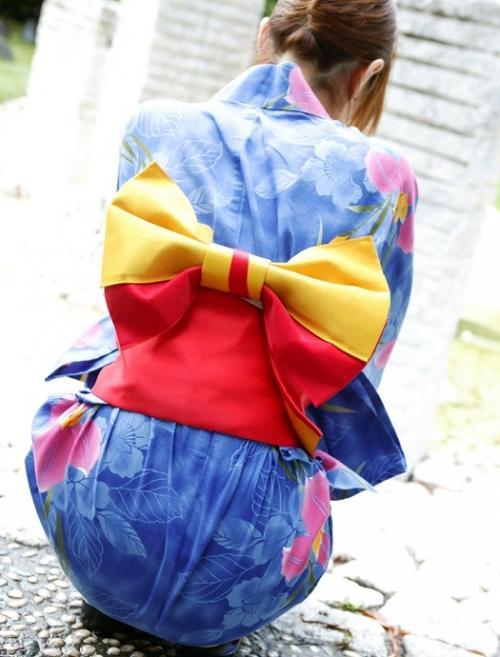 【三次】まさに大和撫子!浴衣や着物姿の女の子のエロ画像・30枚目