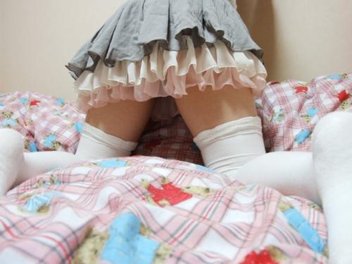 【三次】素人っぽい女の子の太ももエロ画像part2・29枚目