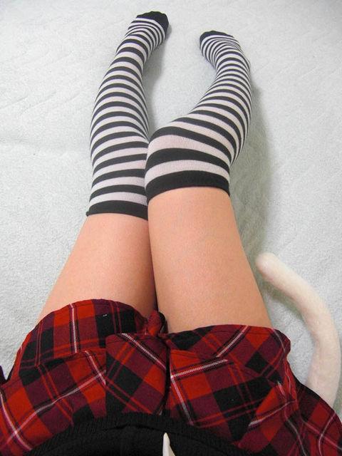 【三次】ニーハイ画像part3・5枚目